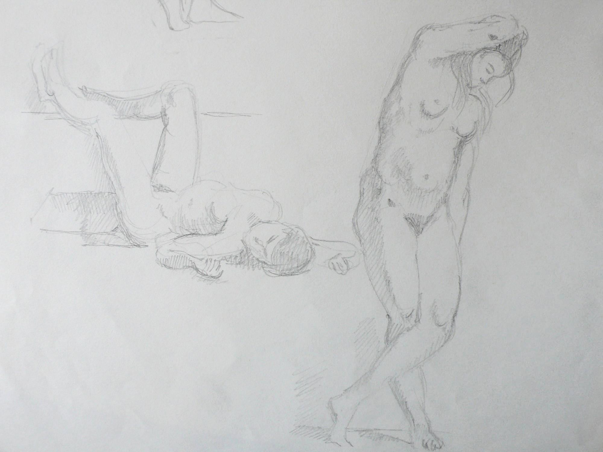 Cours de nus modèles vivants à paris