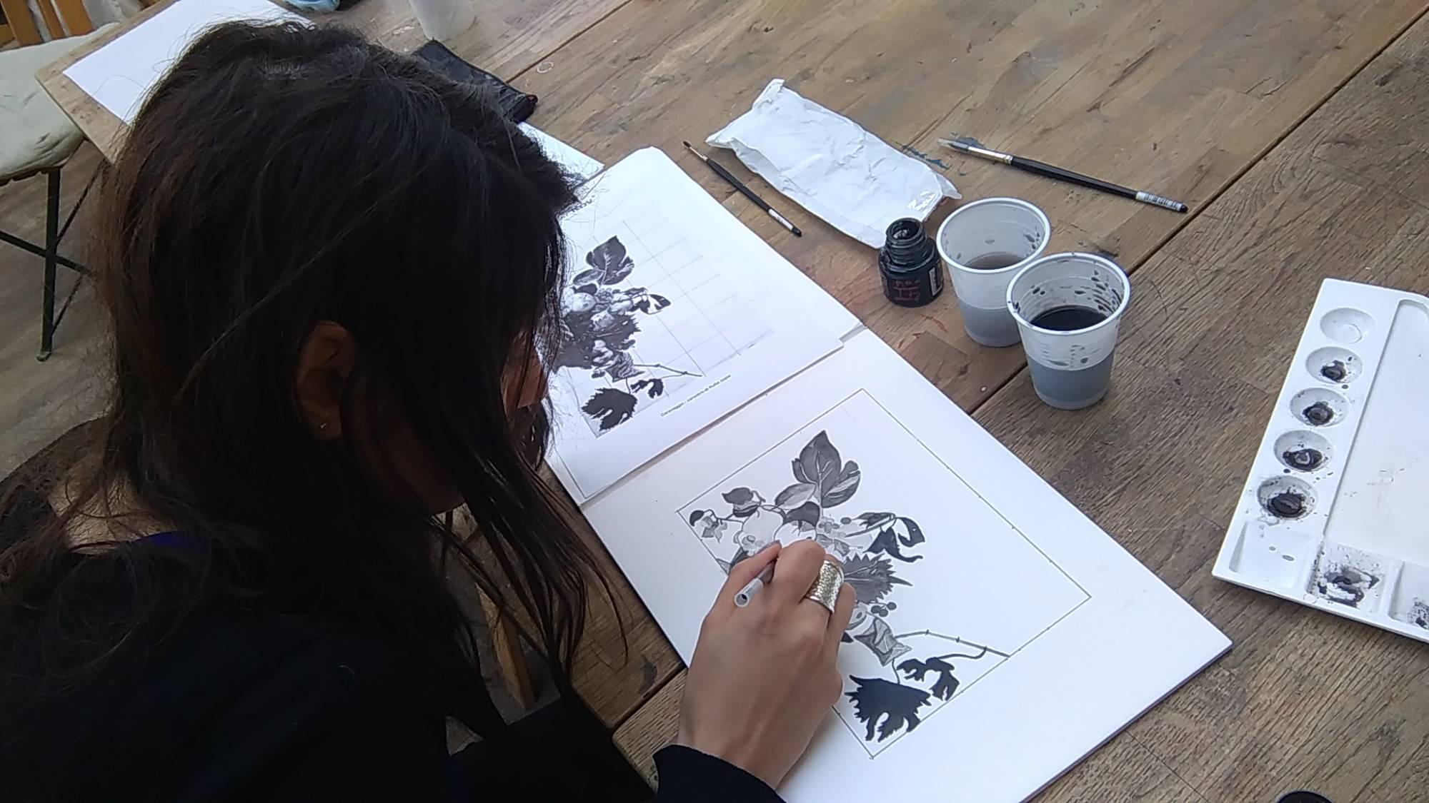 ou trouver une école de dessin pour adulte proche Paris 9 ème