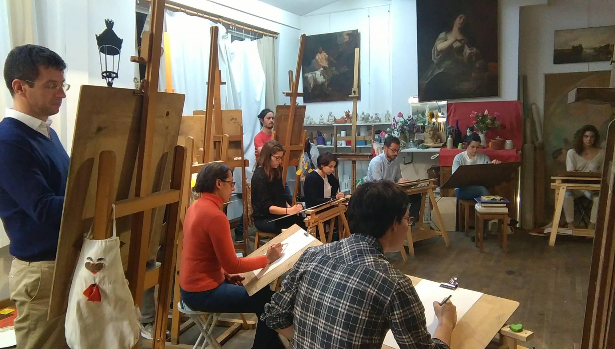 apprendre le dessin avec un professeur proche Paris 2 ème