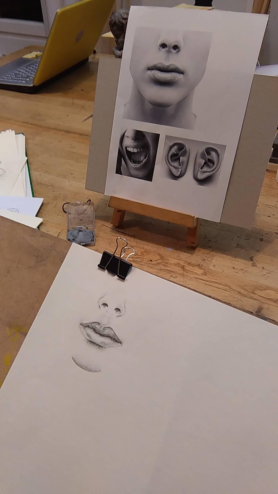 Apprendre à dessiner le visage et le corps humain.