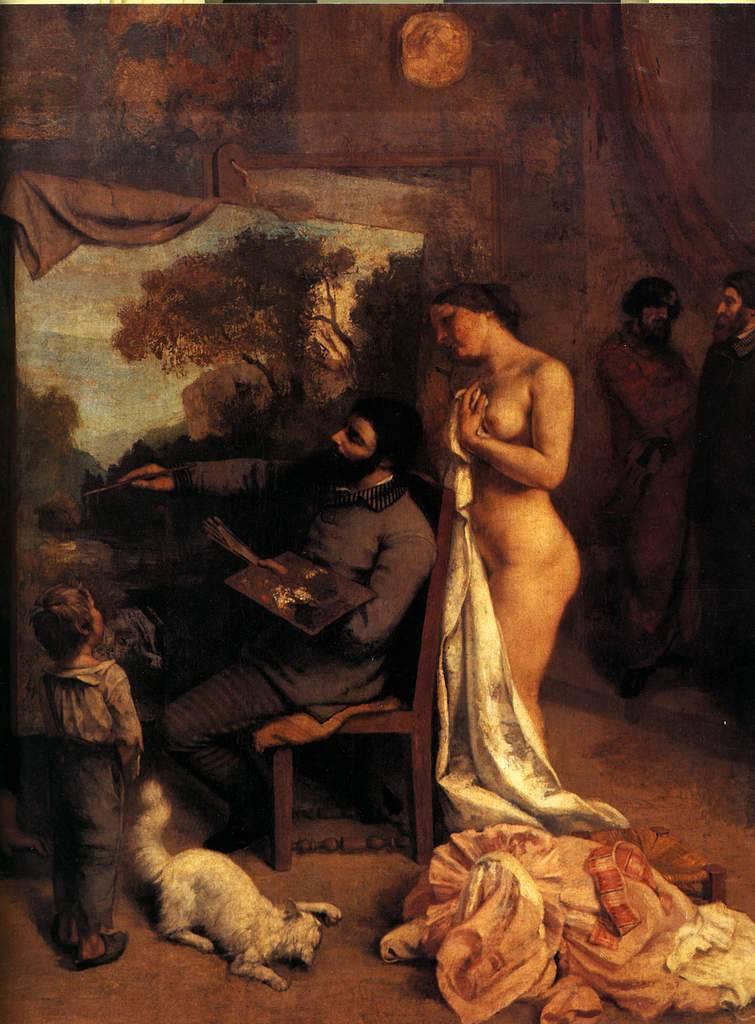 """Apprendre la peinture aux côtés des grands maîtres """"Courbet"""""""