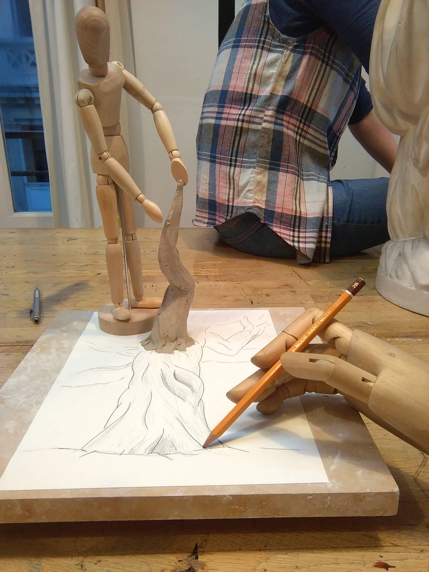 Etude dessin sculture prépas à paris